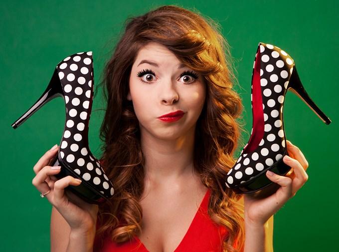 Est ce que vous aimez mes chaussures à pois