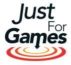 Logo jeu de simulation pc justforgames.com