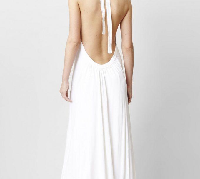 Robe longue dos nu : on vous conseille dans cet article