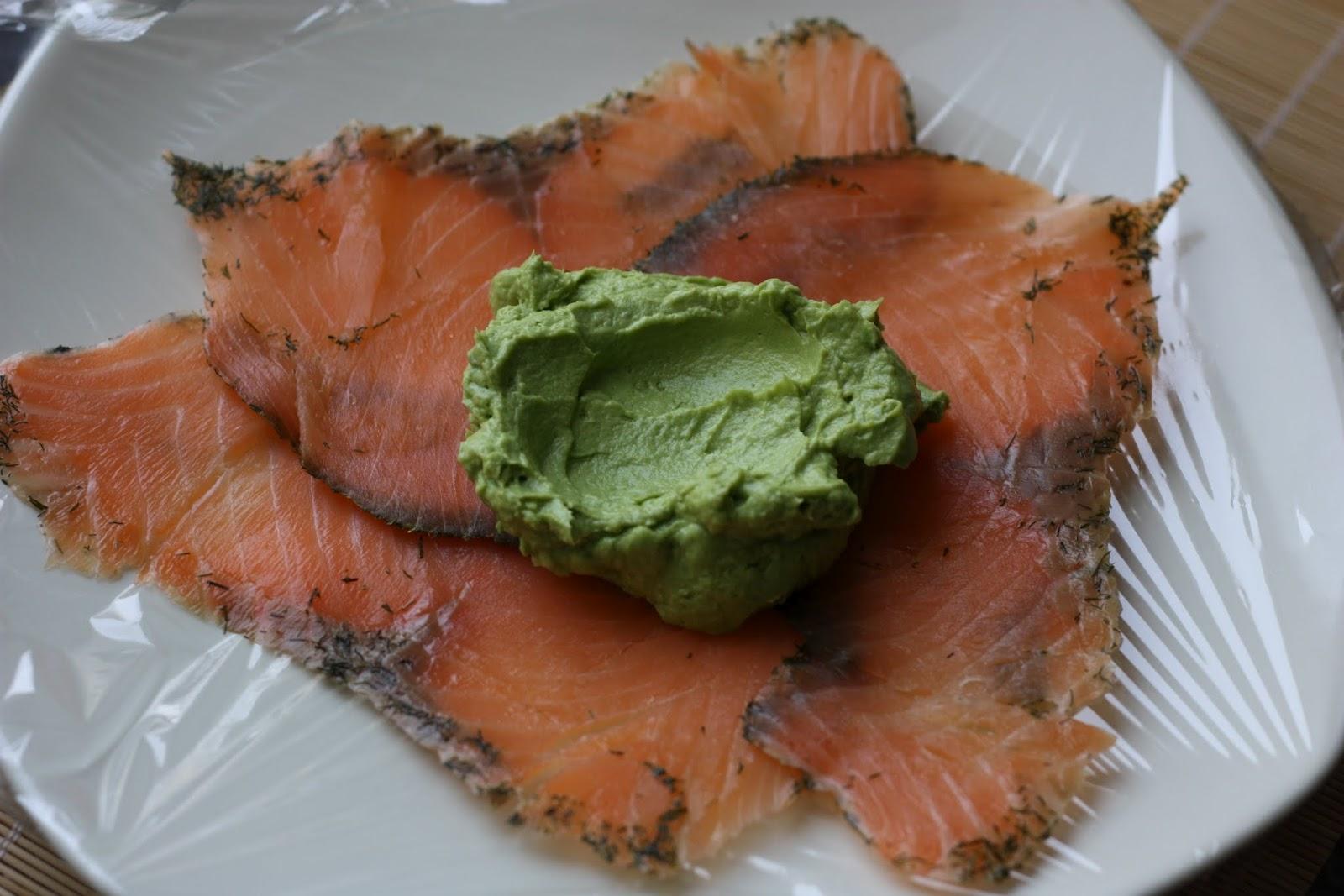 comment pr u00e9senter une assiette de saumon fum u00e9