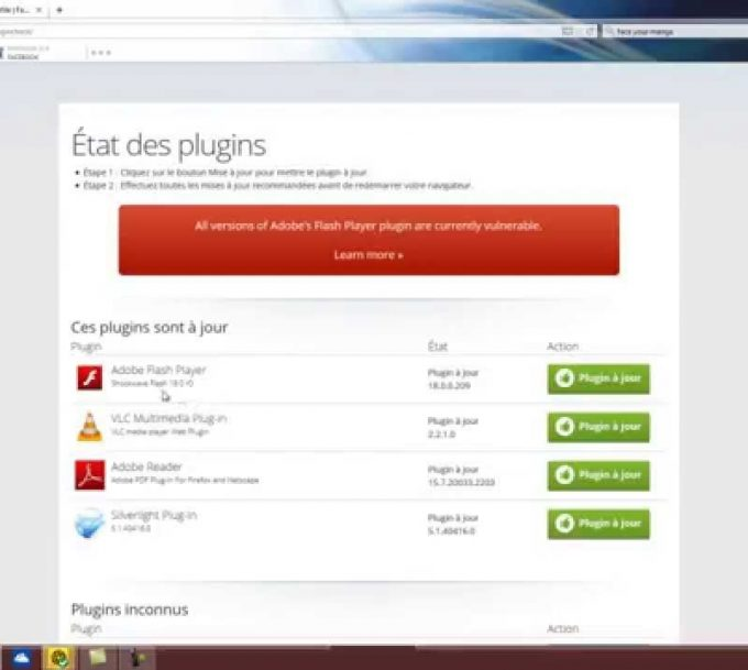 Comment activer flash player ?